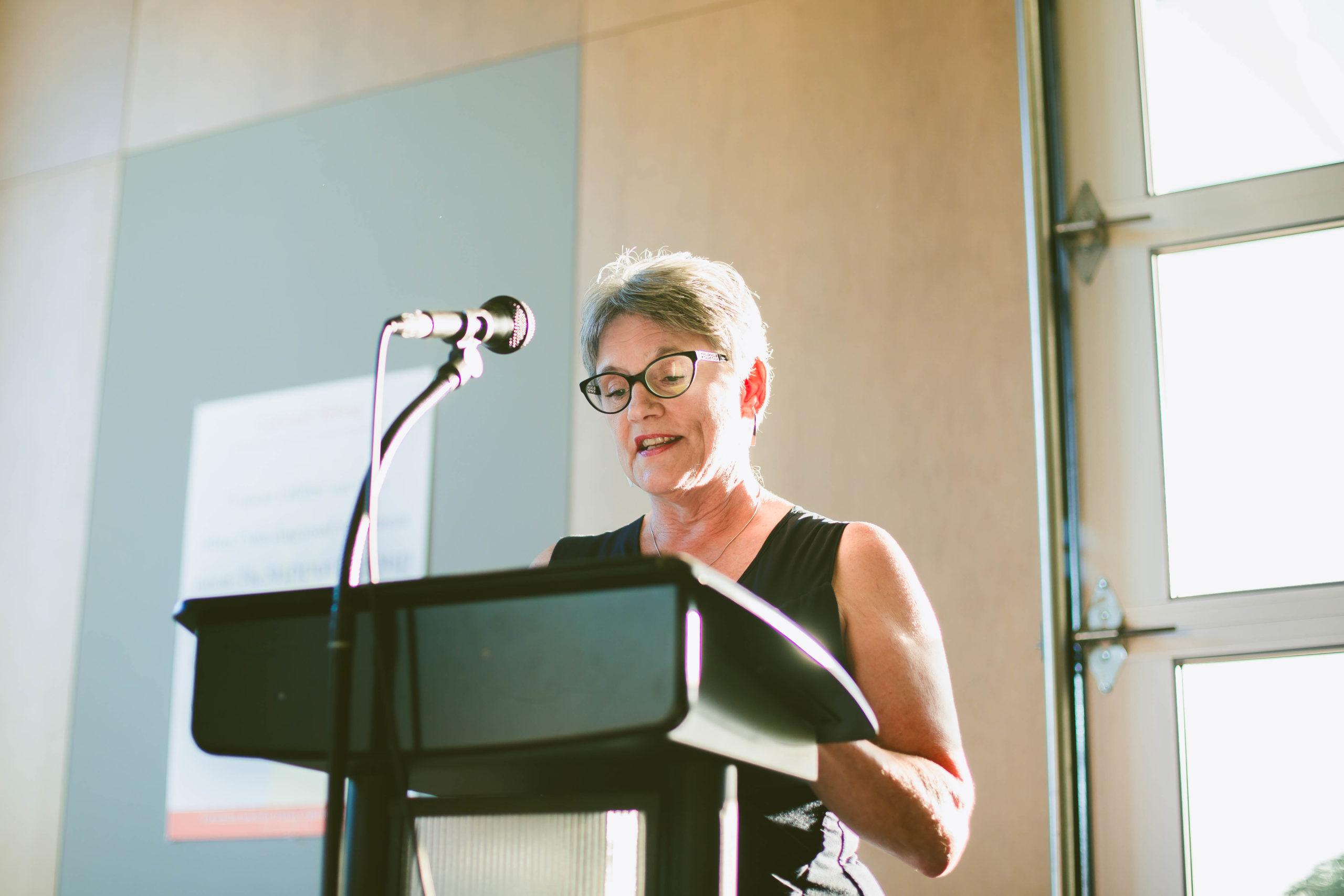 Mary Ellen Shands, Recipient of the 2020 Barbara Frederick Award