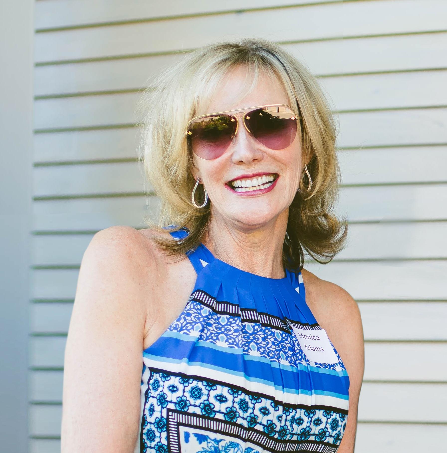 Monica Adams, Recipient of the 2019 Barbara Frederick Award