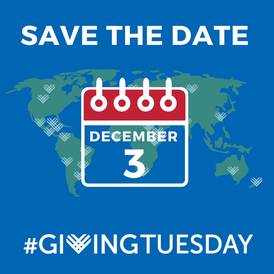 Save the Date – Dec. 3 – #Giving Tuesday!